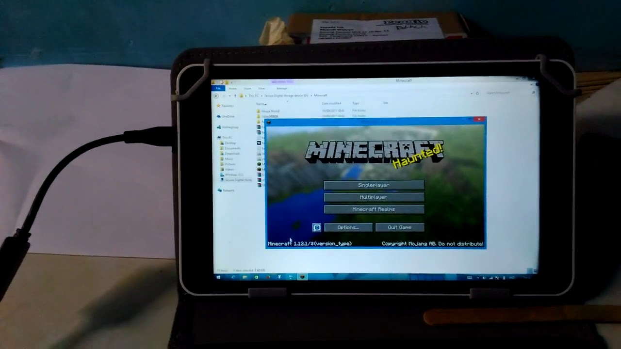 Minecraft Di Tablet Advan W80