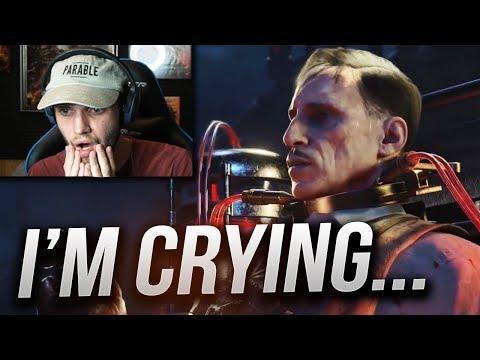 """BLOOD OF THE DEAD"" ENDING REACTION! Ending Cutscene Reaction + BOSS FIGHT! (Black Ops 4 Zombies)"