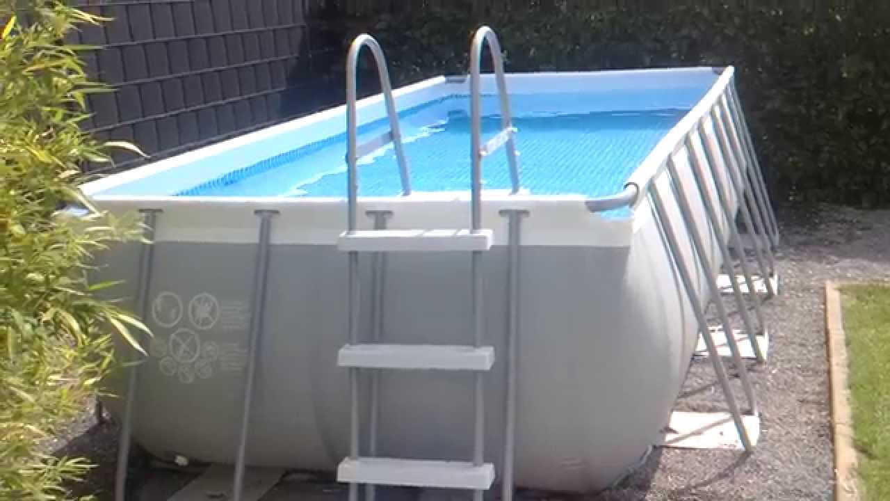 Frame Pool Rund Oder Eckig Intex Ultra Frame 4x2m Pool