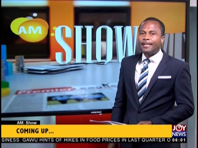 AM Show Intro on JoyNews (12-12-18)