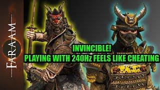 Invincible! Playing with 240 Hz feels like Cheating [For Honor]