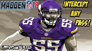 BREAKING MADDEN 18 - How To Intercept The Hail Mary Glitch & Any Pass In Madden 18 Gameplay