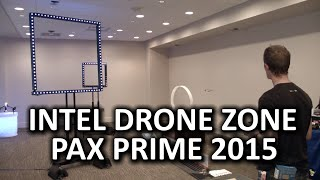 Intel Drone Zone & Technology @ PAX Prime 2015
