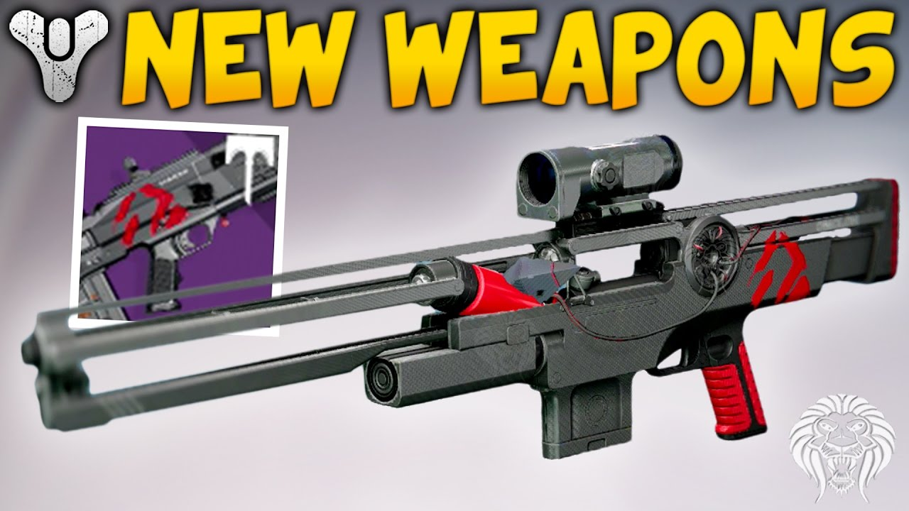 destiny wrath of the machine weapons