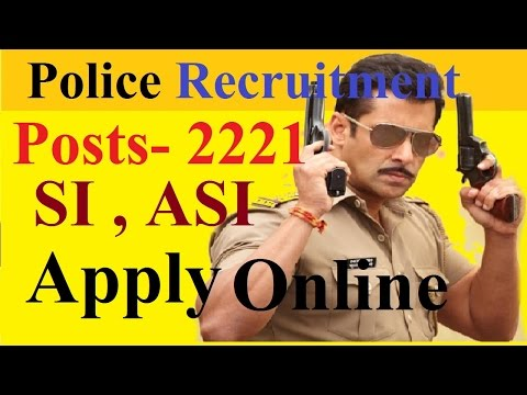 How to Apply Online for Police Recruitment  Posts - 2221 | SI , ASI | Delhi Police