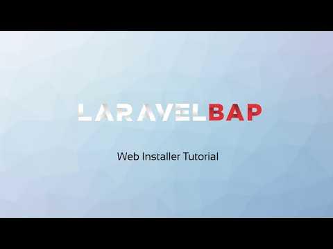 2 min. Laravel BAP Web Installer video - laravel-bap.com