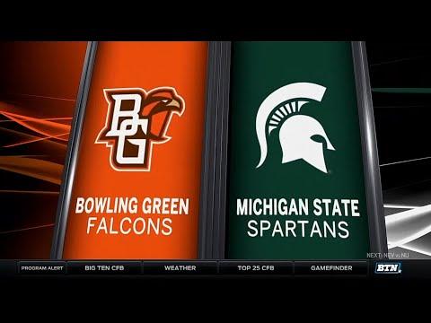 Bowling Green at Michigan State - Football Highlights