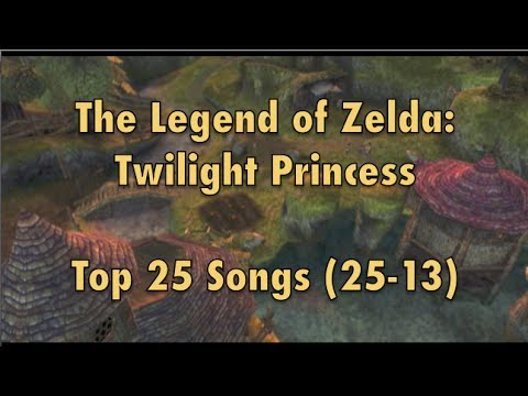 The Legend of Zelda: Twilight Princess Top 25 Songs (25-13)