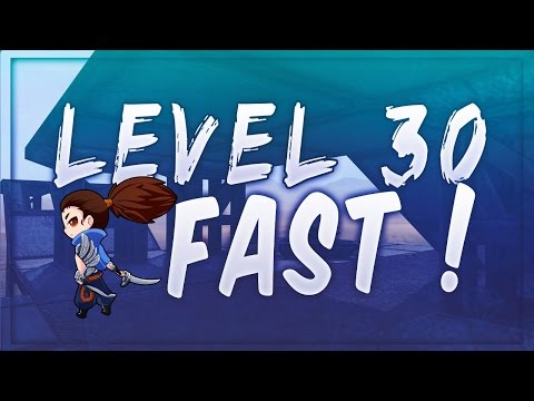 17 HOURS TO LEVEL 30 ?! League of Legends Level up fast guide(how to