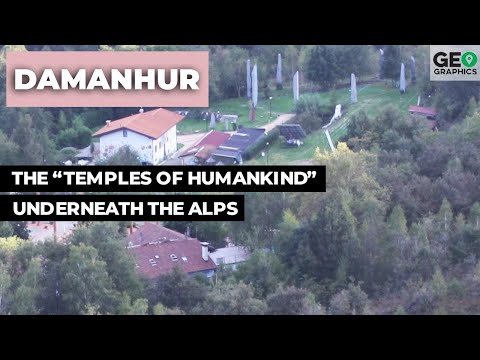 """Damanhur: The """"Temples Of Humankind"""" Underneath The Alps"""