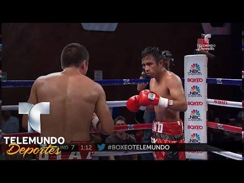 Carlos Ruiz vs. Sebastian Díaz (Pelea completa) | Boxeo | Telemundo Deportes