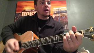 Forever and Ever, Amen - Randy Travis (Beginner Guitar Lesson)