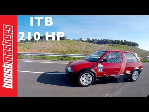 210HP Citroen Ax Gti ITB  (tu5 swap)