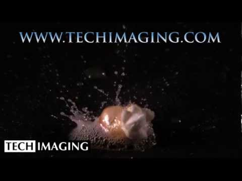 High Speed Camera Video - Popcorn Popping