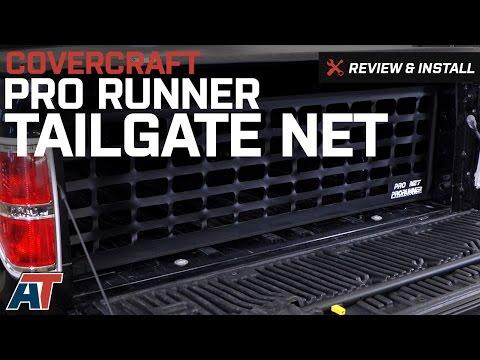1997-2017 F150 Covercraft Pro Runner Tailgate Net Review & Install