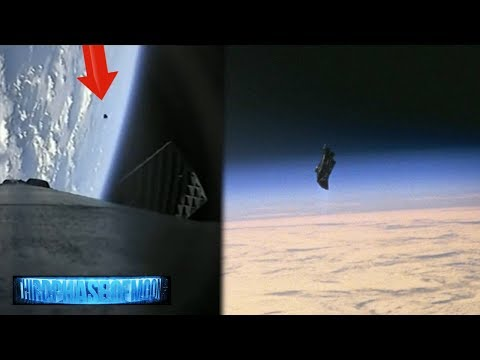 nouvel ordre mondial | La fusée Falcon 9 de SpaceX a filmé un OVNI!