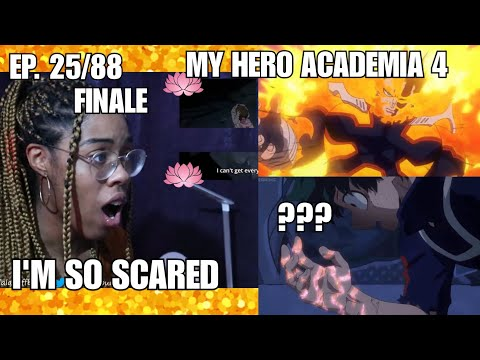 HOLY SH*T!   My Hero Academia 4 Episode 25/88 Reaction FINALE