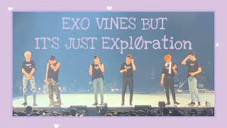 EXO vines but it's just EXplØration pt.2