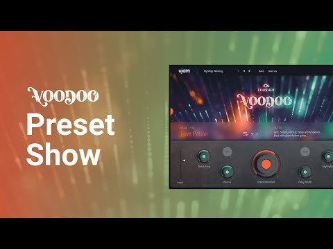 Mode Show   Finisher VOODOO   Audio Effect Plug-in by ujam