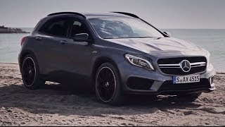 Mercedes GLA45 AMG review