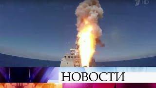 Российские крылатые ракеты «Калибр» поразили объекты ИГИЛ врайоне сирийской Пальмиры.
