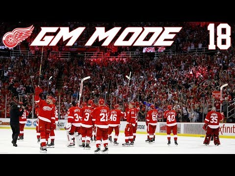1 WIN AWAY FROM THE CUP FINALS! (Detroit Red Wings GM Mode)