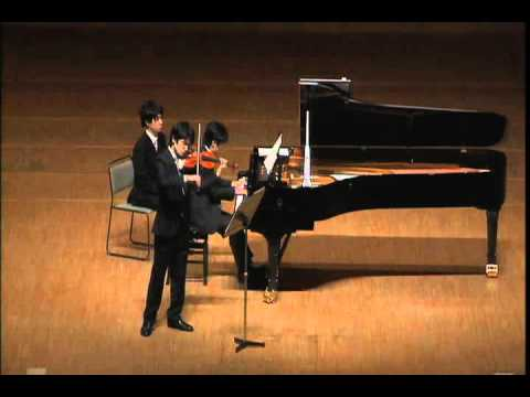 Schumann Violin Sonata No.1 op.105 1