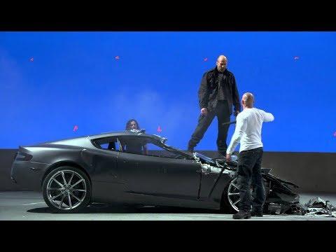 Съемки фильма Форсаж 7 по ту сторону камеры, как снимают кино