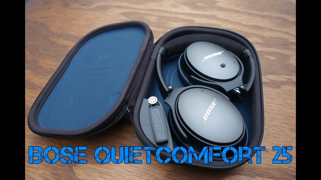 074efa7683a Bose Quietcomfort 25 in 2018 || Unboxing and Review - YouTube