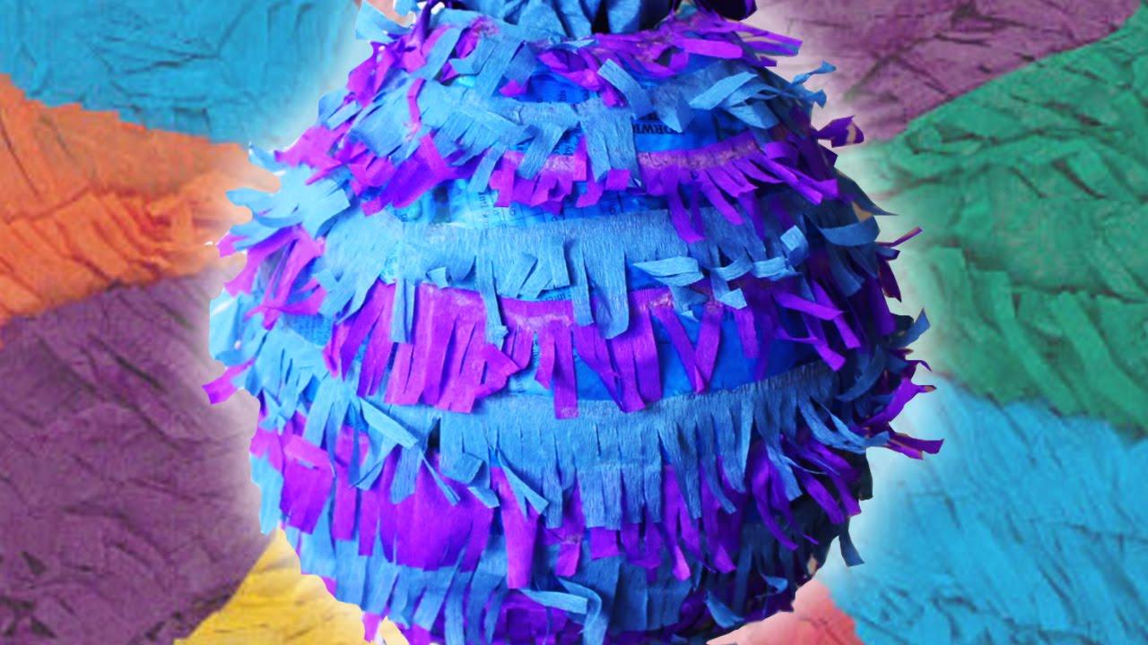 Piñata Cómo Hacer Una Piñata Fácil Piñata In Spanish Manualidades Para Niños