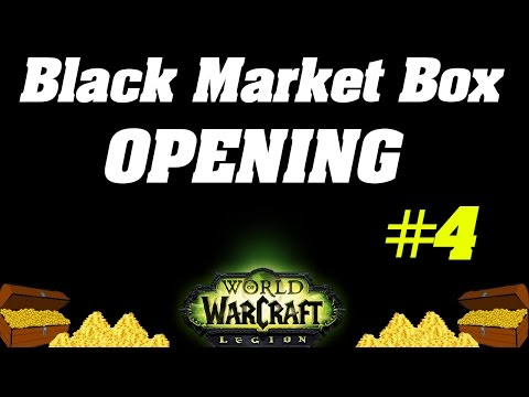 Legion: INSANE LUCK - Opening Unclaimed Black Market Container #4