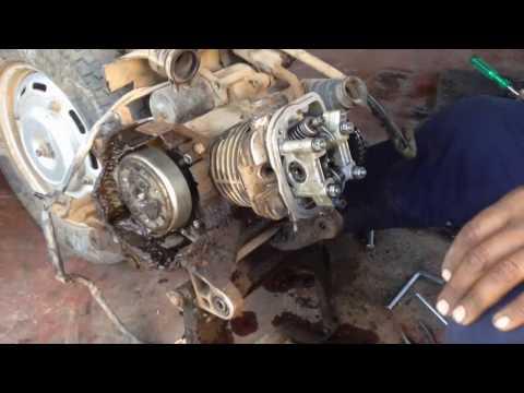 How To Refitt Honda Activa Engine Bore Head