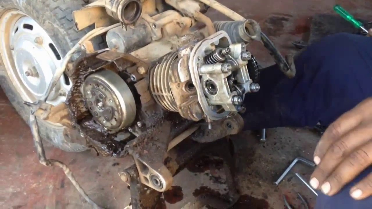 110 Engine Timing Diagram How To Refitt Honda Activa Engine Bore Head Youtube