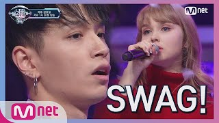 Download lagu I can see your voice 6 SWAG 듀엣 한인 노래 자랑 1등 x AOMG 주지마 190201 EP 3