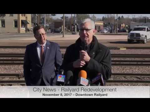 2017-11-08   City News   Downtown Railyard Rail Breaking