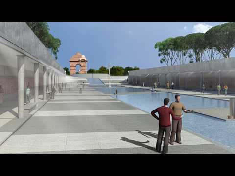 National War Memorial, New Delhi, Walkthrough, PSP Design
