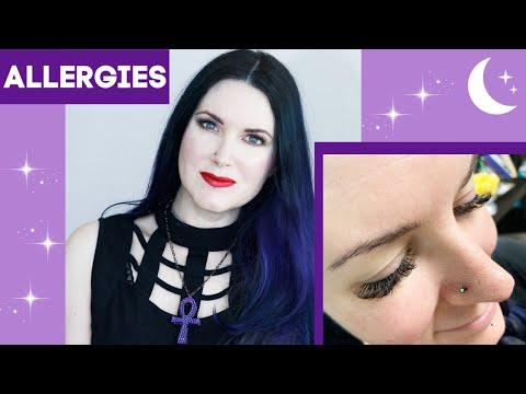 Eyelash Extensions & Allergy Season - Top 5 Tips