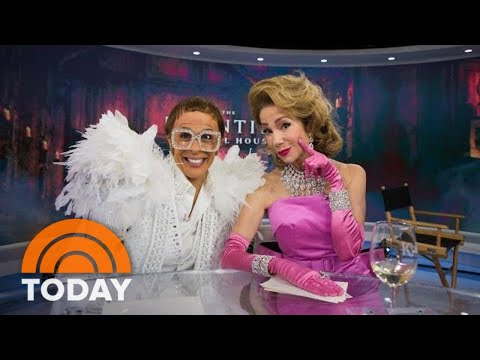 KLG And Hoda Channel Madonna And Elton John For Halloween | TODAY