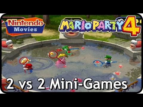 Mario Party 4 - 2 vs 2 Mini-Games