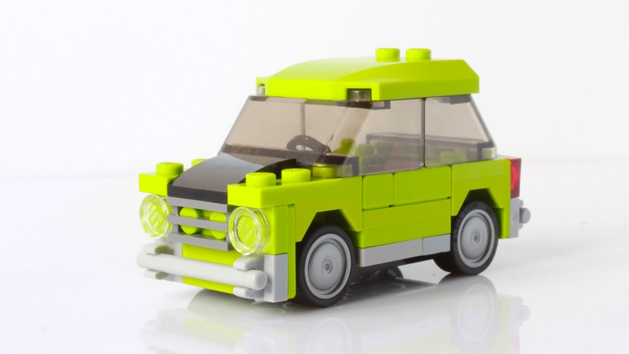 Lego Mr Beans Mini Cooper With Instructions Youtube