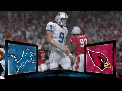 Madden NFL 17 Detroit Lions Franchise- Year 2 Game 15 at Arizona Cardinals