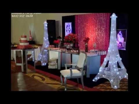 Larissa 15 Birthday Party - Paris theme