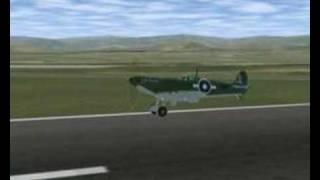 FlightGear: Supermarine Seafire MK III