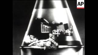 US Launches A Man In Space (MR-3) 1961