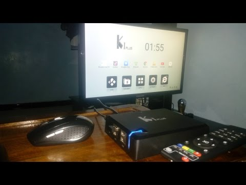 K1 Plus Android 5.1 Amlogic S905 4K IPTV KODI 35.49$