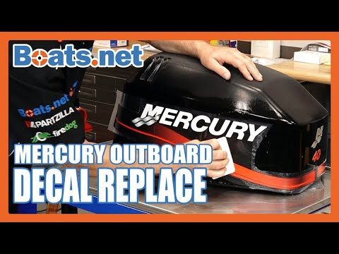 Outboard Decal Removal | Mercury Outboard Decal Replacement | Boats.net