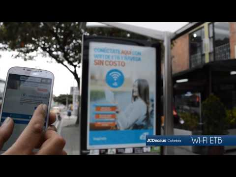 PARADERO WIFI ETB - JCDECAUX COLOMBIA