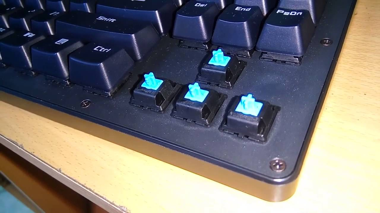 Mechanical Keyboard Nimxo K005 review and comparison [cheapest mecha?]