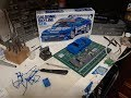 Ep.8 Looking over a Tamiya Model Car Kit(Part 1 prep on a kit roll cage)