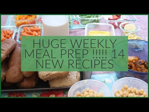 huge-weekly-meal-prep-from-scratch-for-my-large-family-of-9- -14-new-recipes
